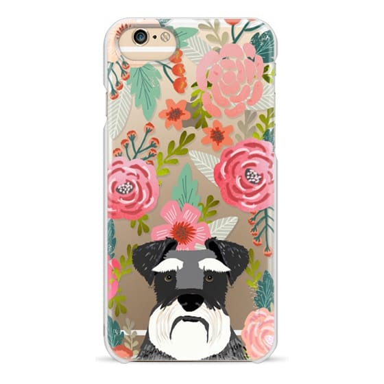 iPhone 6 Cases - Schnauzer cute dog portrait pet gifts for dog lovers custom cell phone case dog breeds