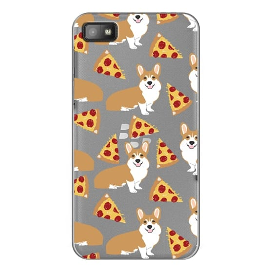 Blackberry Z10 Cases - Corgi pizza cheesy slices welsh corgi lovers cell phone case must have gifts for dog person with corgis