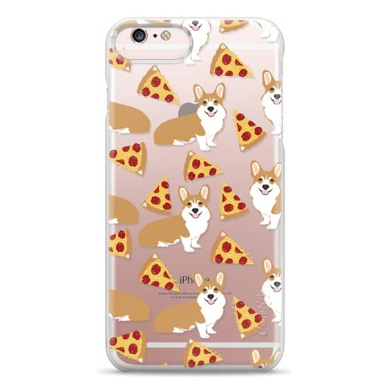 iPhone 6s Plus Cases - Corgi pizza cheesy slices welsh corgi lovers cell phone case must have gifts for dog person with corgis