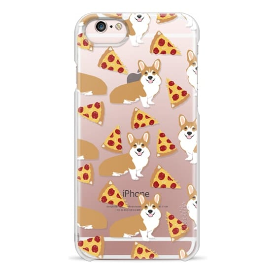 iPhone 6s Cases - Corgi pizza cheesy slices welsh corgi lovers cell phone case must have gifts for dog person with corgis