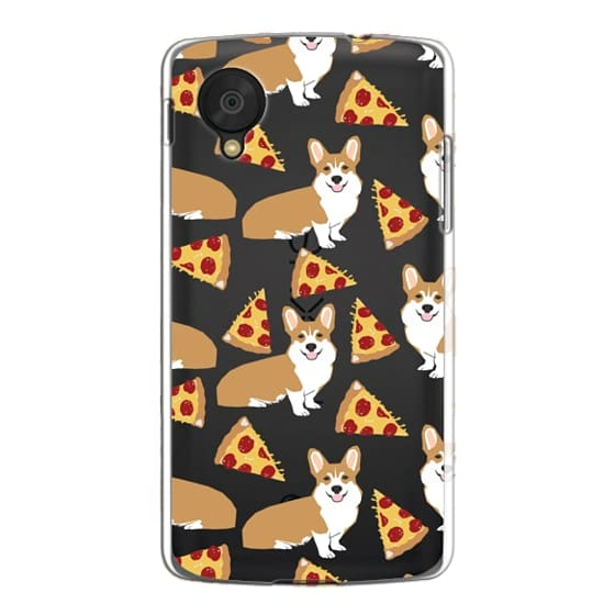 Nexus 5 Cases - Corgi pizza cheesy slices welsh corgi lovers cell phone case must have gifts for dog person with corgis