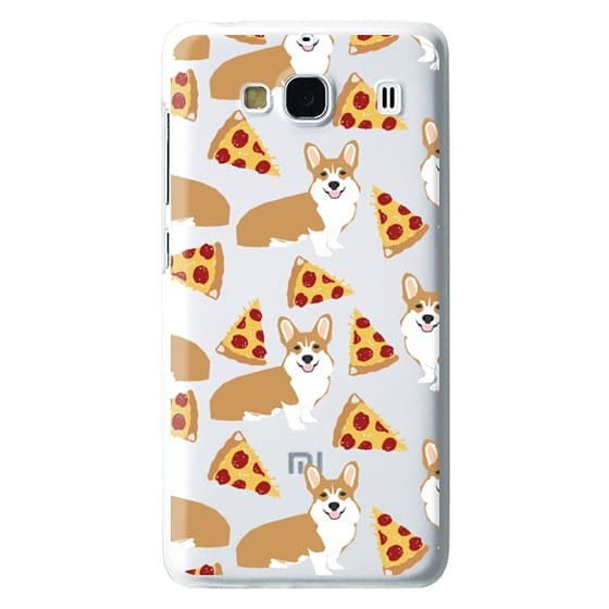 Redmi 2 Cases - Corgi pizza cheesy slices welsh corgi lovers cell phone case must have gifts for dog person with corgis