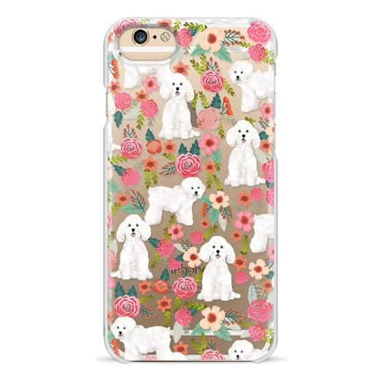 iPhone 6 Cases - Bichon florals dog breed must have gifts for bichon frise cute fluffy white dog owners rejoice at this gift