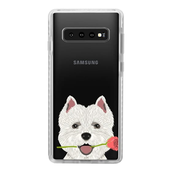 Samsung Galaxy S10 Cases - Highland Terrier dog owner gift idea cute cell phone case for dog person different dog breeds