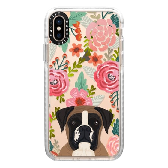 iPhone XS Cases - Boxer dog breed boxer owner must have iphone6 transparent cell phone case