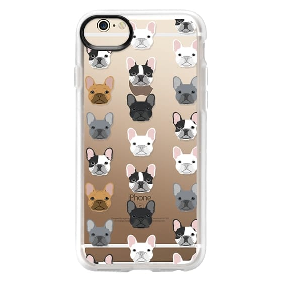 iPhone 6 Cases - Frenchies - cute french bulldog owners will love this clear case french bulldog dog love