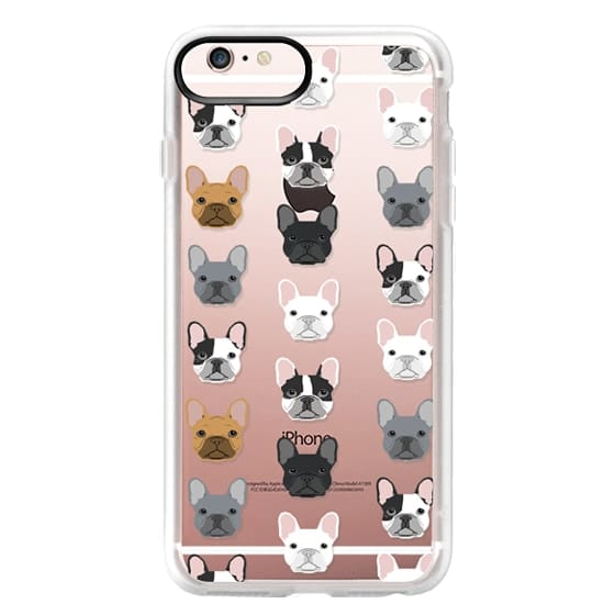 iPhone 6s Plus Cases - Frenchies - cute french bulldog owners will love this clear case french bulldog dog love