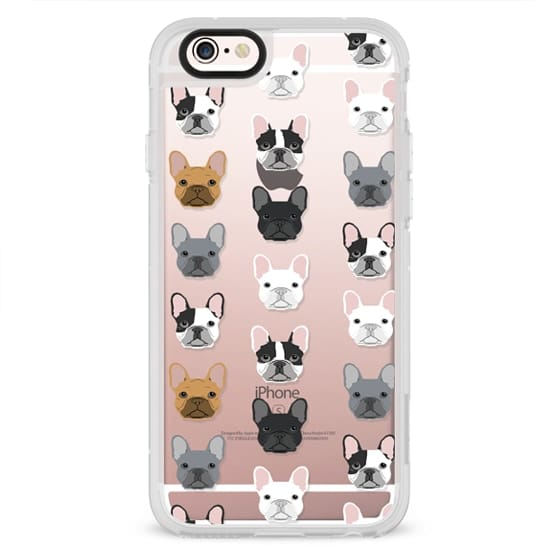 iPhone 4 Cases - Frenchies - cute french bulldog owners will love this clear case french bulldog dog love