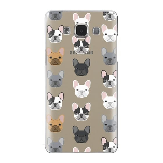 Samsung Galaxy A5 Cases - Frenchies - cute french bulldog owners will love this clear case french bulldog dog love