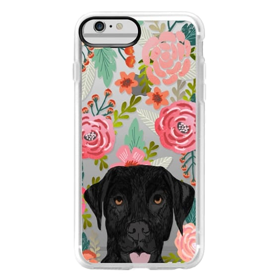 iPhone 6 Plus Cases - Black Lab cute labrador retriever pet portrait dog gifts custom dog person must have cell phone transparent case