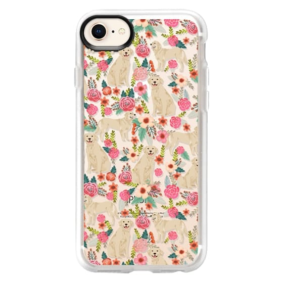 iPhone 8 Cases - Golden Retrievers Florals cute dogs dog design cute flowers labradors golden retriever owners will love this clear iphone 6 case