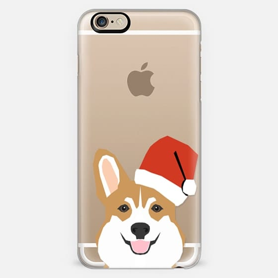 Corgi Santa - Hat Christmas Holiday Xmas Design -