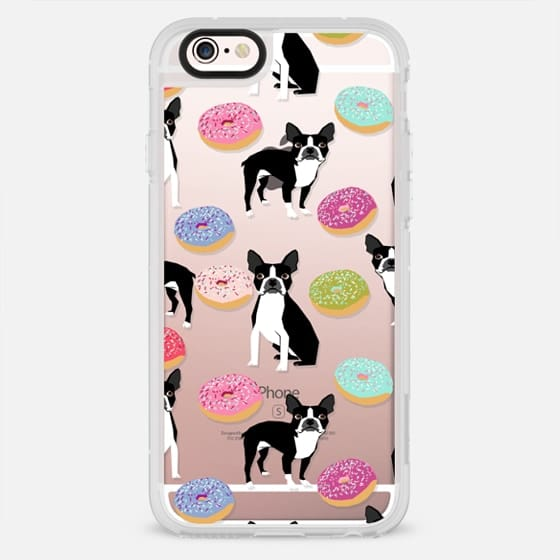 Boston Terrier donuts cute must have tech accessories gifts for boston terrier owners - New Standard Case