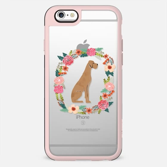 great dane floral wreath clear case new iphone dog lover pet friendly
