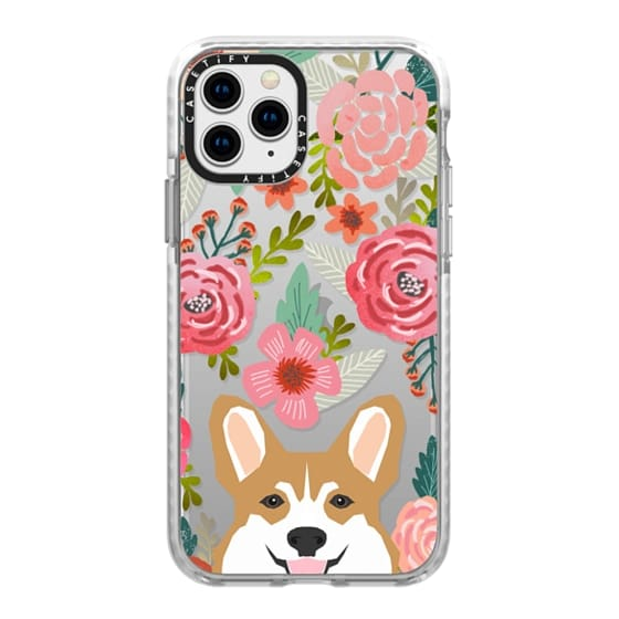 iPhone 11 Pro Cases - Corgi in the flowers cute spring corgi dog cell phone case for corgi owners
