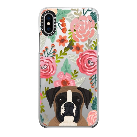 iPhone X Cases - Boxer dog breed boxer owner must have iphone6 transparent cell phone case
