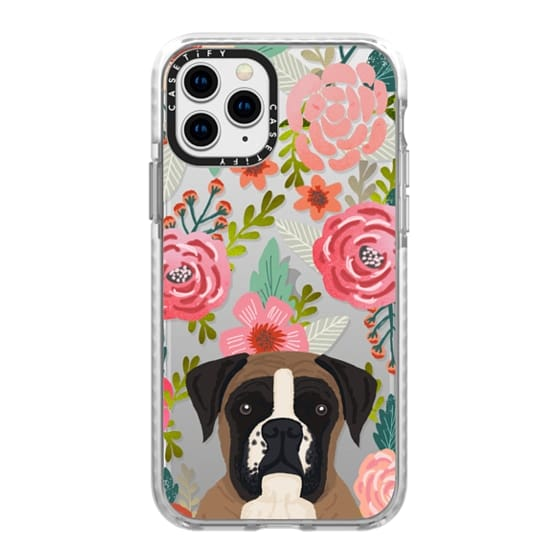 iPhone 11 Pro Cases - Boxer dog breed boxer owner must have iphone6 transparent cell phone case