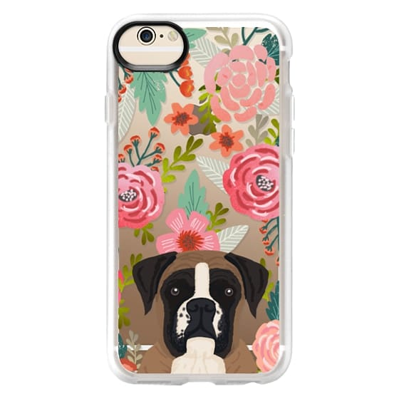 iPhone 6 Cases - Boxer dog breed boxer owner must have iphone6 transparent cell phone case