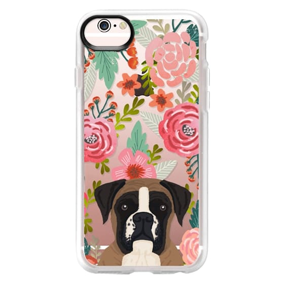 iPhone 6s Cases - Boxer dog breed boxer owner must have iphone6 transparent cell phone case