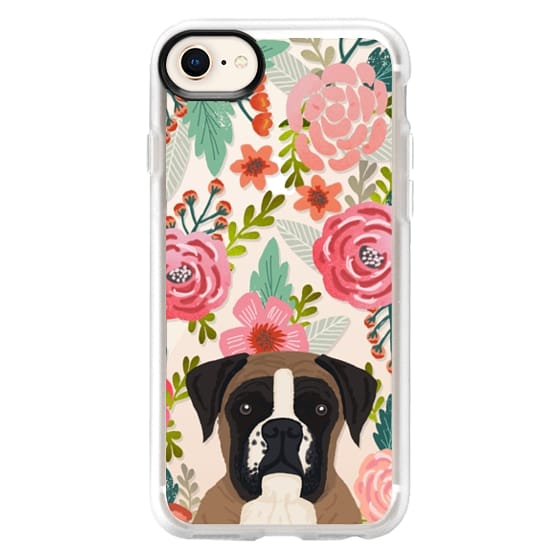 iPhone 8 Cases - Boxer dog breed boxer owner must have iphone6 transparent cell phone case