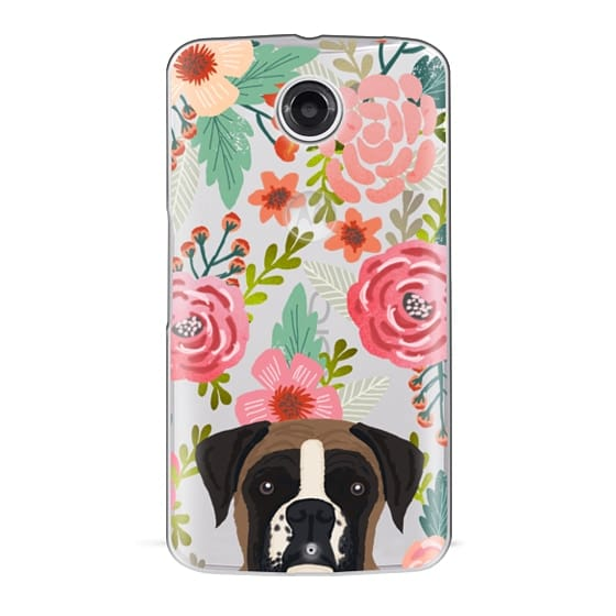 Nexus 6 Cases - Boxer dog breed boxer owner must have iphone6 transparent cell phone case