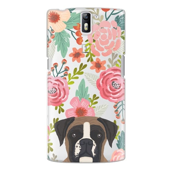 One Plus One Cases - Boxer dog breed boxer owner must have iphone6 transparent cell phone case
