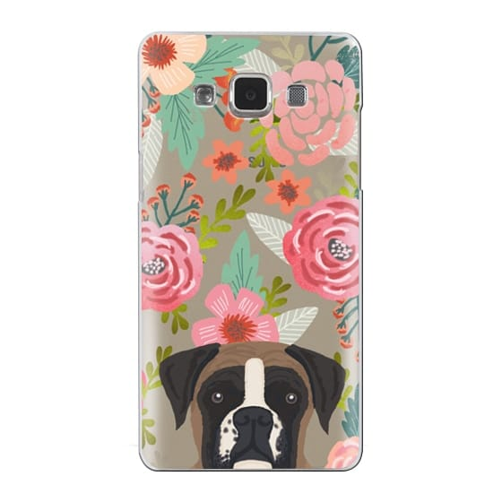 Samsung Galaxy A5 Cases - Boxer dog breed boxer owner must have iphone6 transparent cell phone case