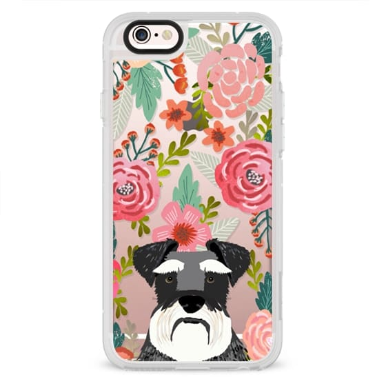 iPhone 6s Cases - Schnauzer cute dog portrait pet gifts for dog lovers custom cell phone case dog breeds