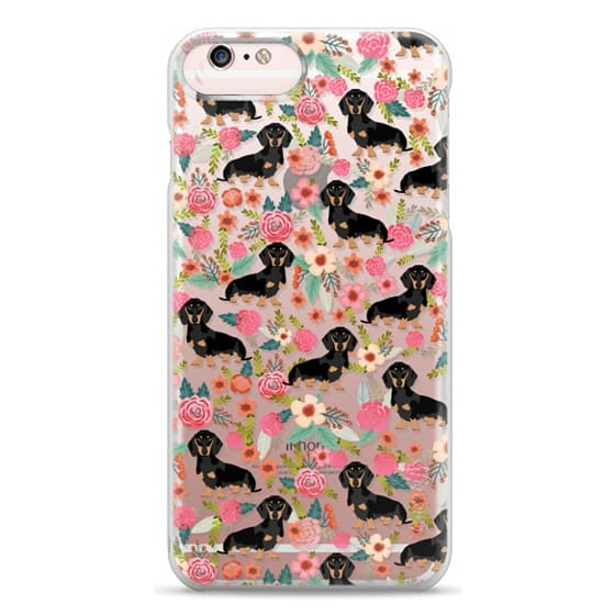 iPhone 6s Plus Cases - Dachshund moxie cute florals weener dog must have gifts for dog person dog breed