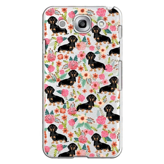 Optimus G Pro Cases - Dachshund moxie cute florals weener dog must have gifts for dog person dog breed