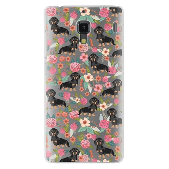 Redmi 1s Cases - Dachshund moxie cute florals weener dog must have gifts for dog person dog breed