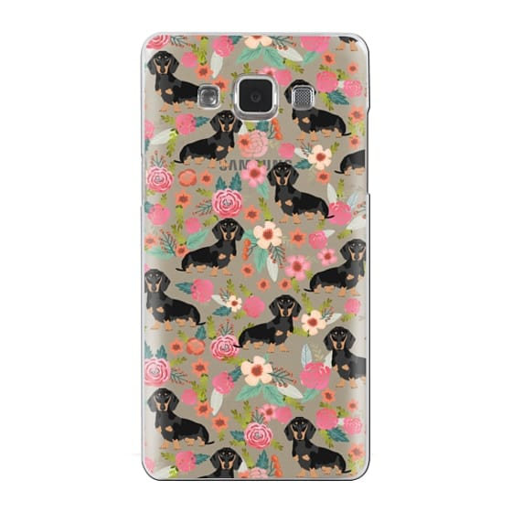 Samsung Galaxy A5 Cases - Dachshund moxie cute florals weener dog must have gifts for dog person dog breed