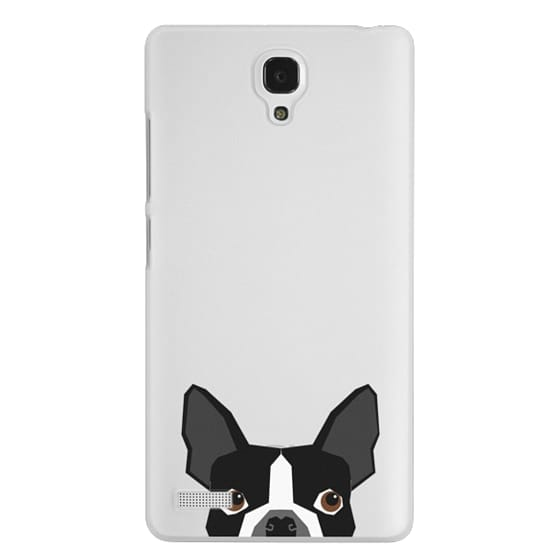 Redmi Note Cases - Boston Terrier Cell Phone case for dog lovers dog person gifts clear iphone case black and white puppy