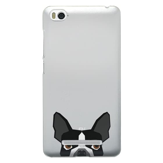 Xiaomi 4i Cases - Boston Terrier Cell Phone case for dog lovers dog person gifts clear iphone case black and white puppy