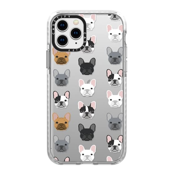 iPhone 11 Pro Cases - Frenchies - cute french bulldog owners will love this clear case french bulldog dog love