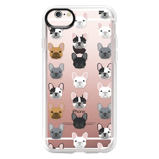 iPhone 6s Cases - Frenchies - cute french bulldog owners will love this clear case french bulldog dog love