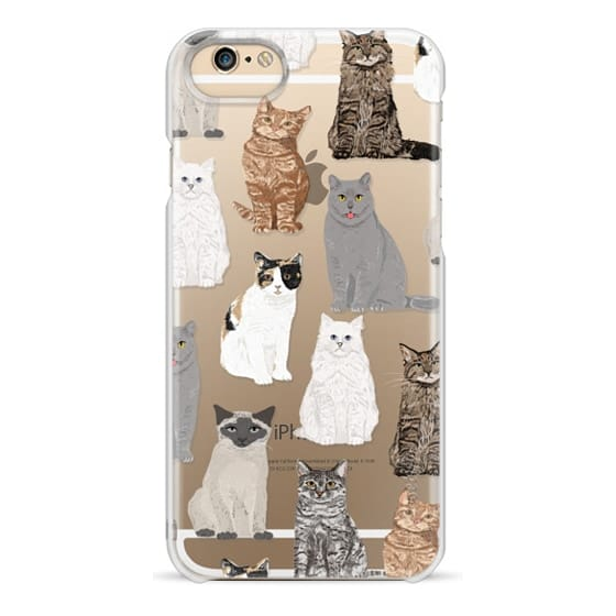 iPhone 6 Cases - Cat breeds must have cat lady gifts unique one of a kind transparent cell phone case pet friendly designs