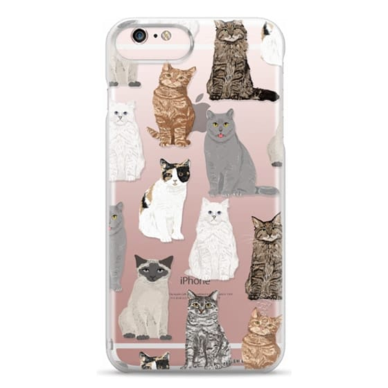 iPhone 6s Plus Cases - Cat breeds must have cat lady gifts unique one of a kind transparent cell phone case pet friendly designs