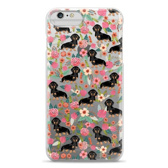 iPhone 6 Plus Cases - Dachshund moxie cute florals weener dog must have gifts for dog person dog breed