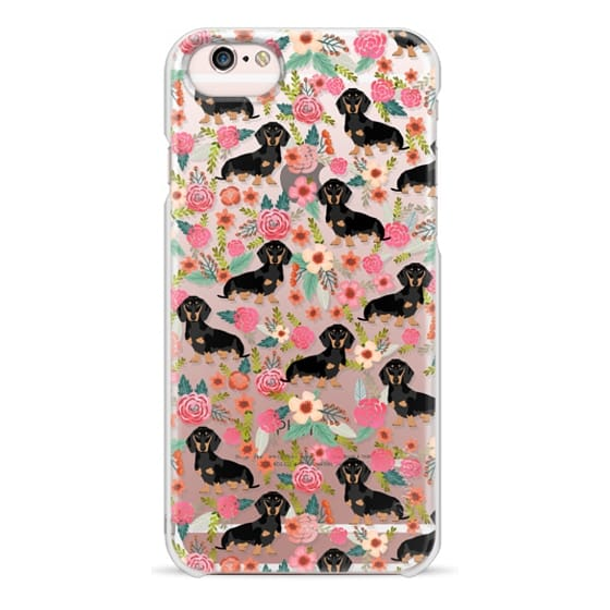 iPhone 6s Cases - Dachshund moxie cute florals weener dog must have gifts for dog person dog breed