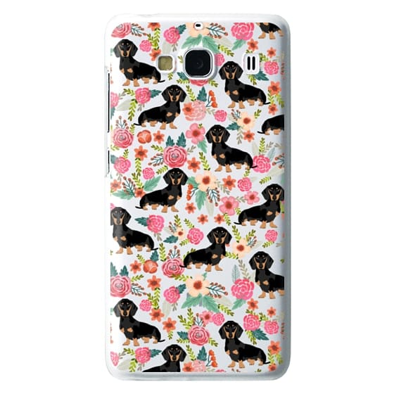 Redmi 2 Cases - Dachshund moxie cute florals weener dog must have gifts for dog person dog breed