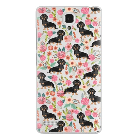 Redmi Note Cases - Dachshund moxie cute florals weener dog must have gifts for dog person dog breed