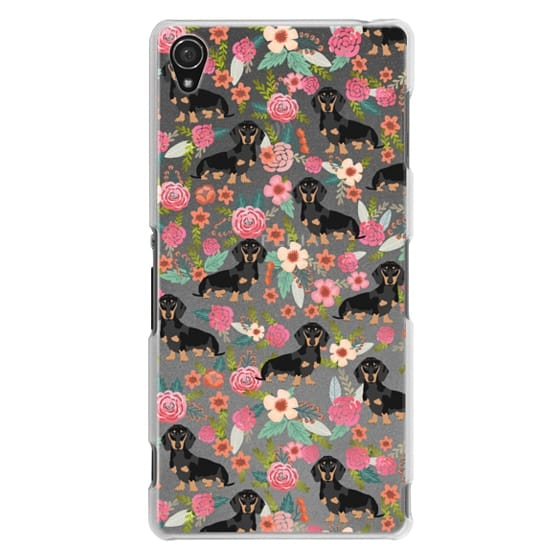 Sony Z3 Cases - Dachshund moxie cute florals weener dog must have gifts for dog person dog breed