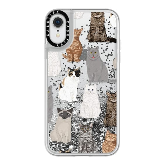 iPhone XR Cases - Cat breeds must have cat lady gifts unique one of a kind transparent cell phone case pet friendly designs