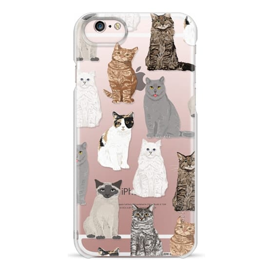 iPhone 6s Cases - Cat breeds must have cat lady gifts unique one of a kind transparent cell phone case pet friendly designs