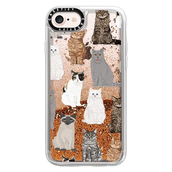 iPhone 7 Cases - Cat breeds must have cat lady gifts unique one of a kind transparent cell phone case pet friendly designs