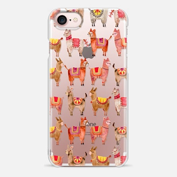iPhone 7 Case Alpacas – Transparent