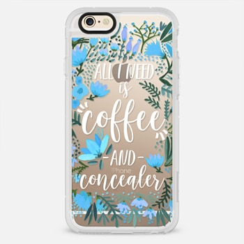 iPhone 6 Case Coffee & Concealer by CatCoq