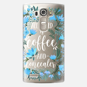 LG G4 Case Coffee & Concealer by CatCoq