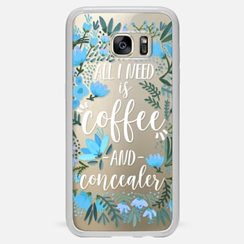 Samsung Galaxy S7 Edge ケース Coffee & Concealer by CatCoq